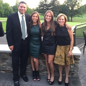 Dr. Kobak and family